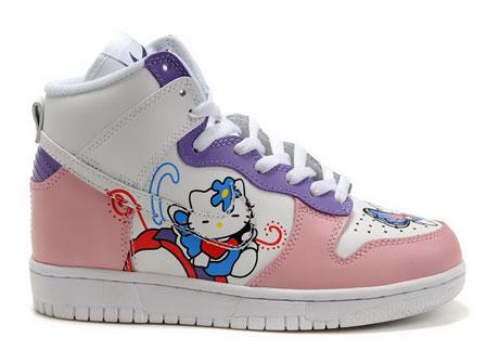 6f480b99cb67 nike dunk high hello kitty shoes - Nike Dunk High Tops Shoes